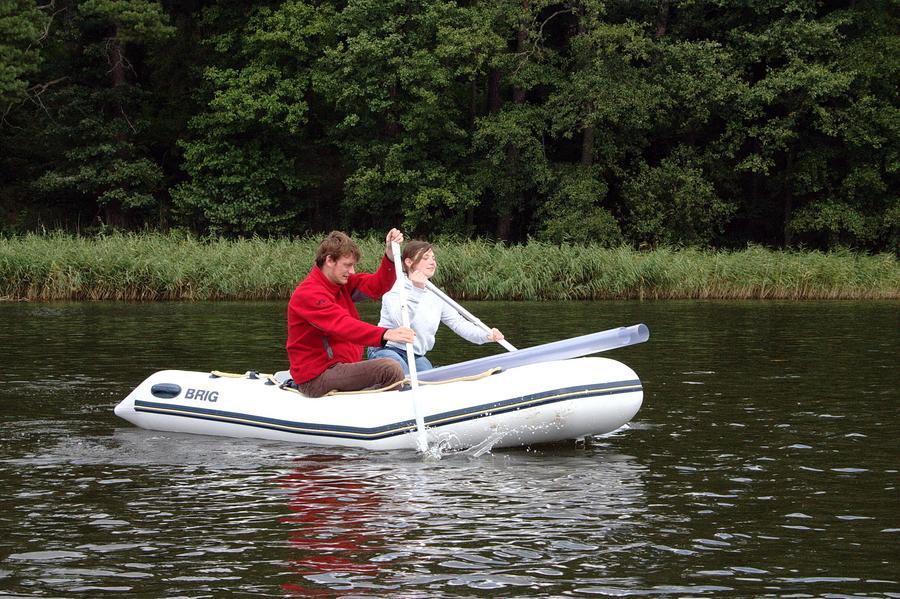 Rubber boat race