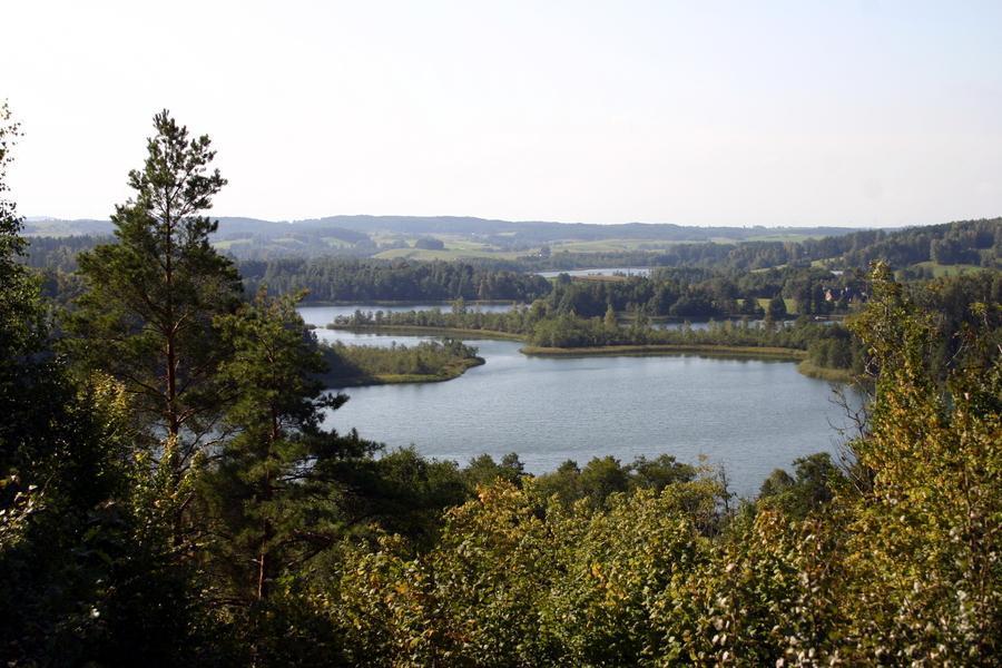 Morning view on beautiful Lake Jaczno